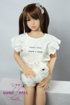 TPE製ラブドール AXB Doll 100cm バスト平ら#A-2