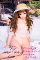 フルシリコン製ラブドール XYcolo Doll 153cm A-cup #1 材質選択可能