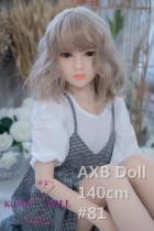 TPE製ラブドール AXB Doll 140cm バスト平ら #81