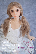 TPE製ラブドール AXB Doll 140cm バスト平 #110