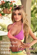 TPE製ラブドール Irontech Doll 165cm Victoria