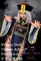 フルシリコン製ラブドール XYcolo Doll 153cm A-cup 依娜 ゾンビメイク 材質選択可能