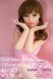 TPE製ラブドール DollHouse168 New 135cm Aカップ 晴子 (C工場製)
