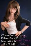 フルシリコン製ラブドール XYcolo Doll 153cm E-cup 奈绪Sakura 材質選択可能