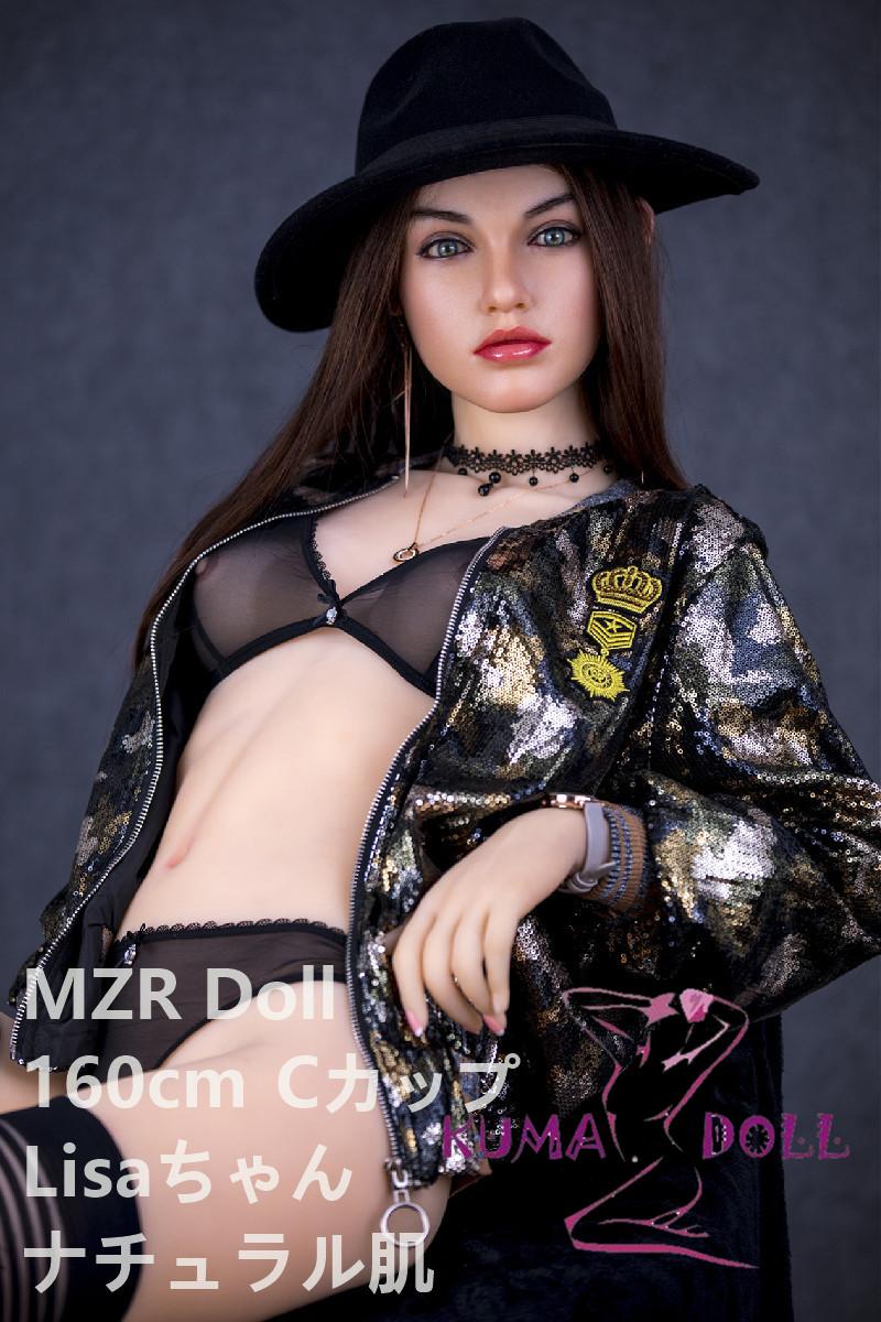 シリコン製頭部+TPEボディ MZR Doll 160cm Lisa #3