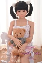TPE製ラブドール AXB Doll 126cm バスト平ら #15