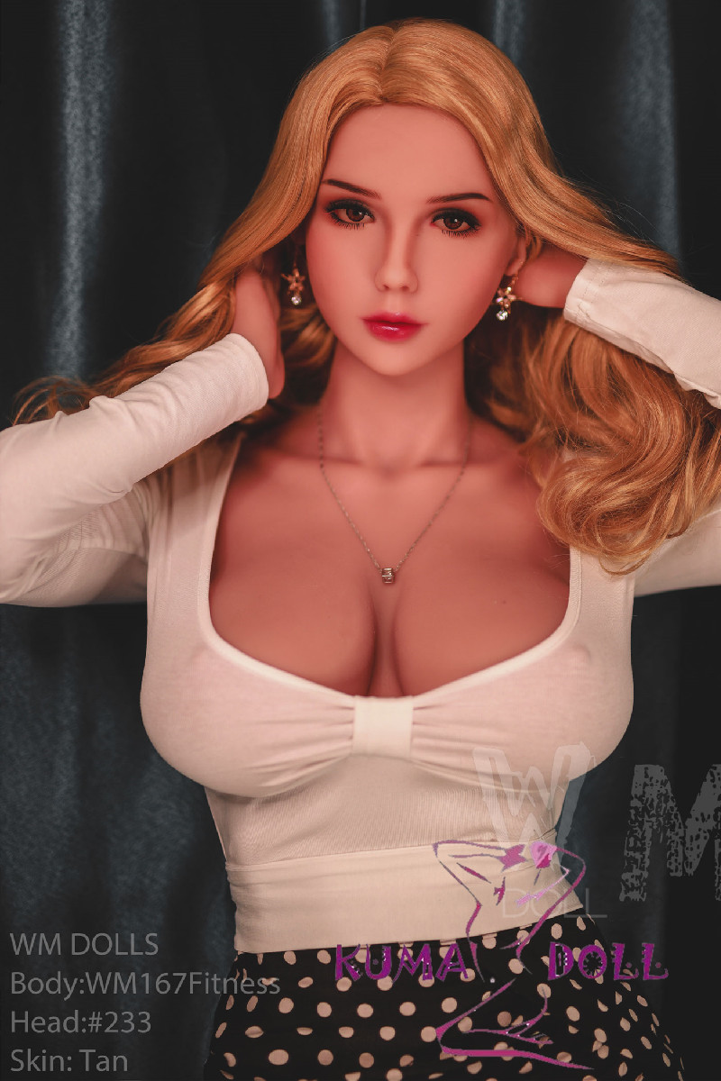 TPE製ラブドール WM Dolls 167cm G-cup #233 欧米仕様 筋肉タイプ