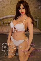 TPE製ラブドール WM Dolls 150cm Hカップ #174
