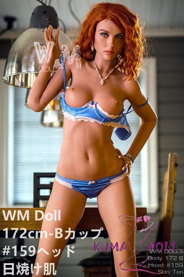 TPE製ラブドール WM Dolls 172cm Bカップ #159 欧米仕様