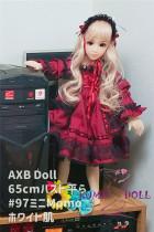 TPE製ラブドール AXB Doll 65cm  #97 バスト平ら