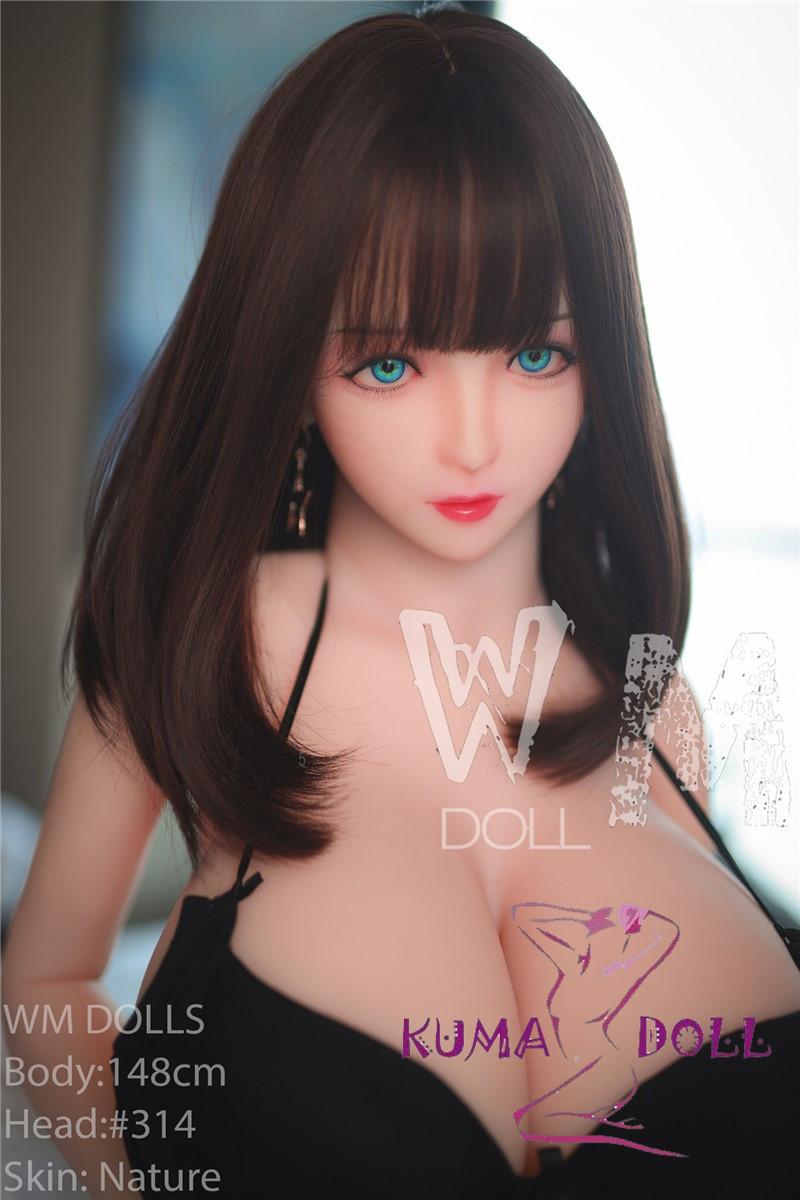 TPE製ラブドール WM Dolls 148cm Lカップ #314 三つのヴァギナ付き
