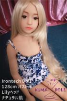 TPE製ラブドール Irontech Doll 128cm バスト平 Lily