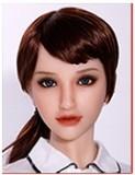 フルシリコン製ラブドール Sanhui Doll 158cm #24 瞑り目タイプ
