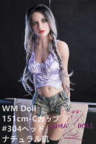 TPE製ラブドール WM Dolls 151cm C-cup #304 欧米仕様