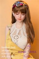 フルシリコン製ラブドール Sanhui Doll 165cm #34 瞑り目 お口開閉機能選択可