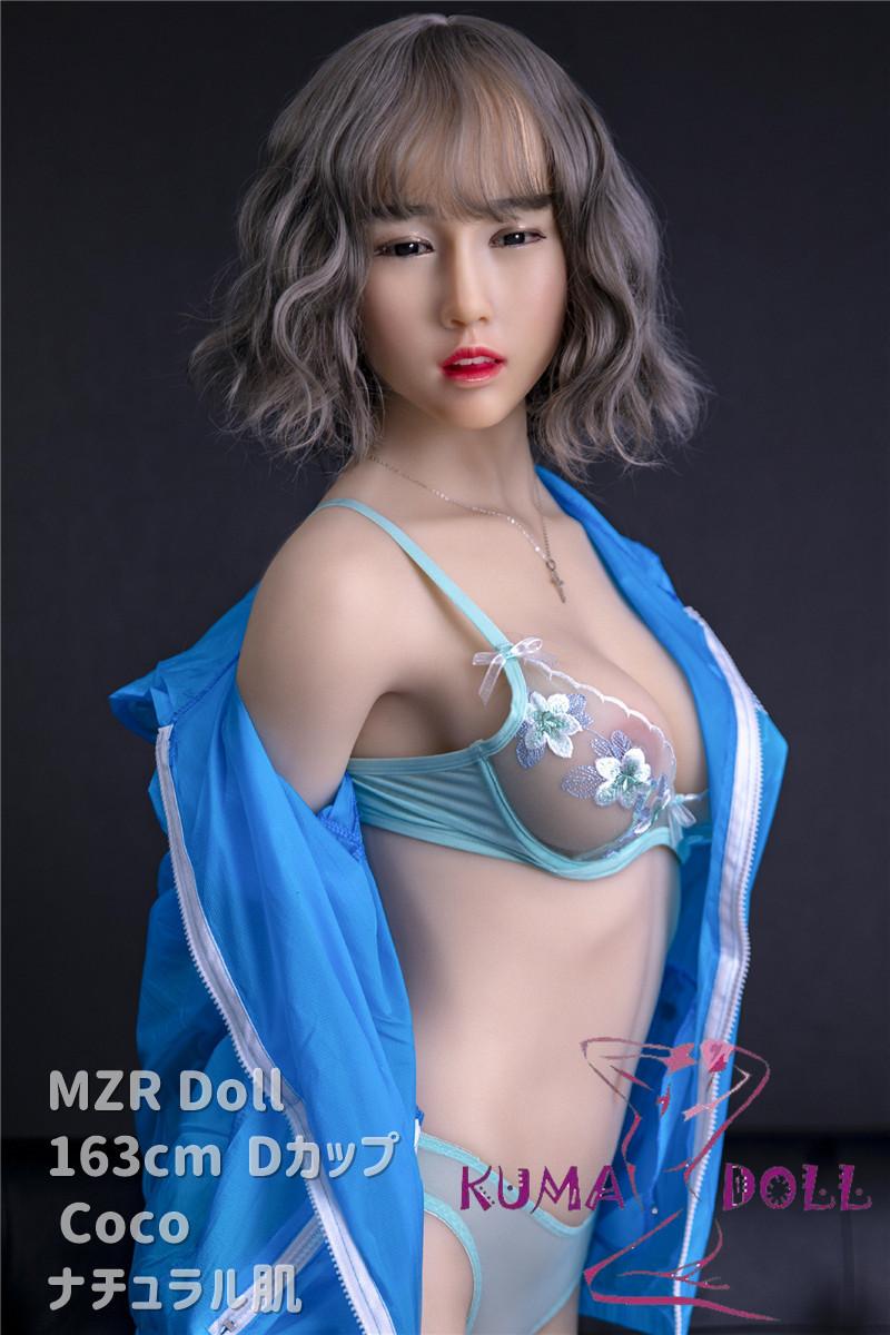 シリコン製頭部+TPEボディ MZR Doll 163cm Dカップ Coco