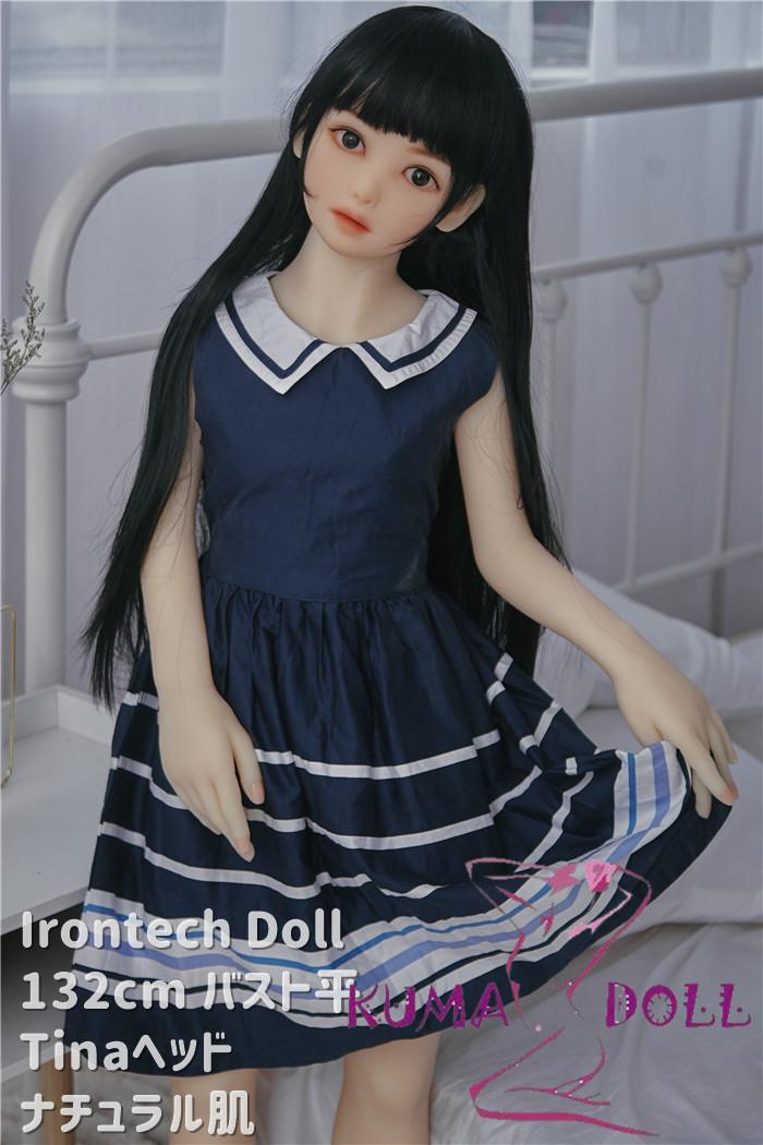 TPE製ラブドール Irontech Doll 132cm バスト平 Tina
