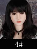 シリコン製頭部+TPEボディ WM Dolls 164cm D-Cup シリコンヘッド #4