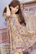 TPE製ラブドール AXB Doll 130cm バスト平ら #12