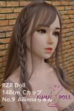 フルシリコン製ラブドール  RZR Doll 148cm No.9 Ailinnaちゃん