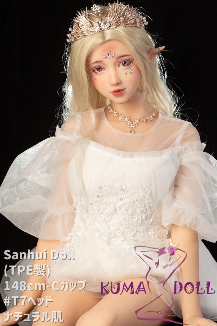 TPE製ラブドール Sanhui Doll 148cm Cカップ #T7ヘッド プリンセスメイク