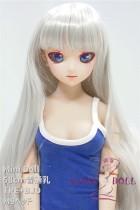 Mini Doll ミニドール セックス可能 58cm普通乳 TPE+BJD M9ヘッド  53cm-75cm身長選択可能