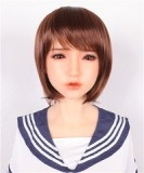 フルシリコン製ラブドール Sanhui Doll トルソー足無し 80cm Fカップ #23ヘッド 新骨格搭載