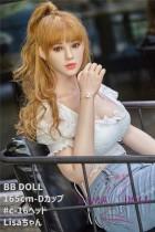 フルシリコン製ラブドール BB Doll 155cm Dカップ C-16ヘッド Lisaちゃん  血管&人肌模様など超リアルメイク無料 眉の植毛無料