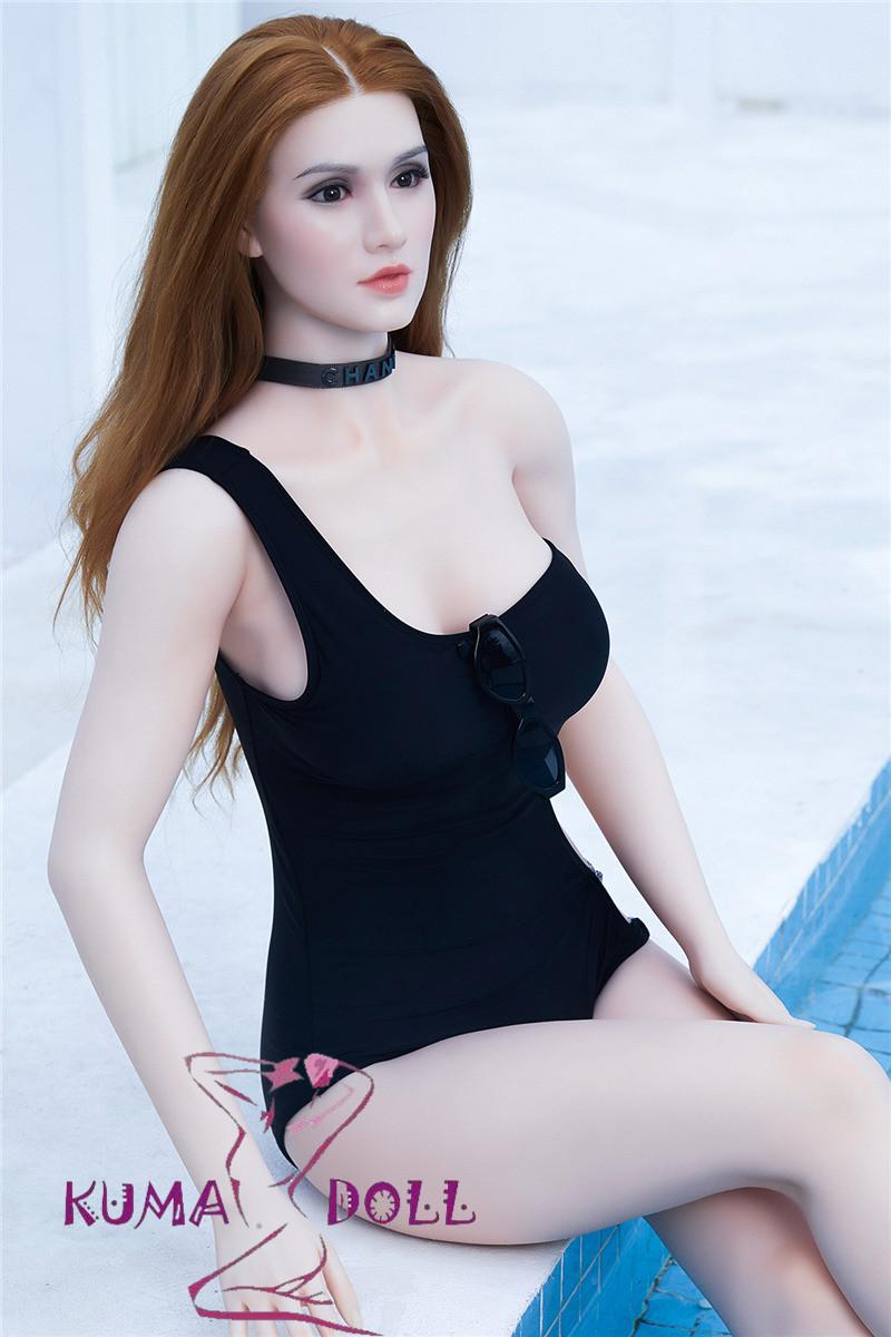 フルシリコン製ラブドール BB Doll 165cm普通乳 #Vヘッド 血管&人肌模様など超リアルメイク無料 眉の植毛無料