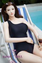フルシリコン製ラブドール BB Doll 165cm普通乳 #Rヘッド 血管&人肌模様など超リアルメイク無料 眉の植毛無料