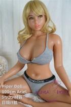 フルシリコン製ラブドール PiperDoll 100cm Fカップ Ariel シームレス