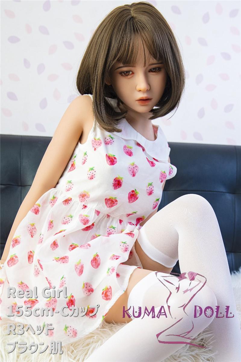 軽量化TPE製ラブドール Real Girl 155cm Cカップ R3ヘッド 体重22kg