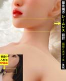 女優天使もえヘッド シームレス TPE製ラブドール Real Girl 155cm Eカップ  EVO骨格付き ヘッドとボディが一体式