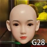 フルシリコン製ラブドール WAXDOLL 142cm 貧乳  #G50ヘッド リアルメイク付き