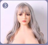シリコン製頭部+TPEボディ Qita Doll 125cm #91ヘッド