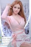 シリコン製頭部+TPEボディ JY Doll 168cm Dカップ 云夕 (Yunxi)ヘッドはSメイク付き