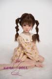 TPE製ラブドール AXB Doll 108cm バスト平 #10ヘッド 掲載画像はリアルメイク付き