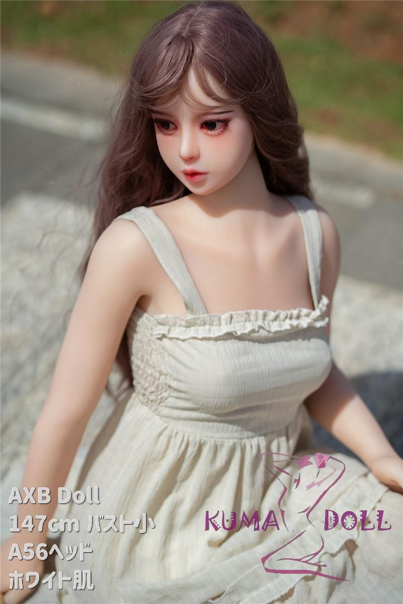 TPE製ラブドール AXB Doll 147cm バスト小 A56 掲載画像はリアルメイク付き
