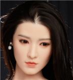 フルシリコン製ラブドール BB Doll 160cm普通乳Dカップ c13ヘッド Aoki 血管&人肌模様など超リアルメイク無料 眉の植毛無料