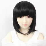 TPE製ラブドール AXB Doll 100cm バスト平 A09ヘッド 掲載画像はリアルメイク付き