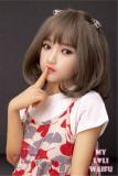 My Loli Waifu 略称MLWロり系ラブドール 138cm AAカップ 陽葵Haruki 頭部 TPE材質ボディー ヘッド材質選択可能 メイク選択可能