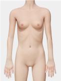 My Loli Waifu 略称MLWロり系ラブドール 126cm AAカップ 柚希Yuki頭部 TPE材質ボディー ヘッド材質選択可能 メイク選択可能