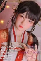 My Loli Waifu 略称MLWロり系ラブドール 138cm AAカップ 陽葵Haruki 頭 TPE材質ボディー ヘッド材質選択可能 メイク選択可能