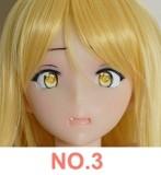 TPE製ラブドール DollHouse168 80cm Bカップ No.3 アニメヘッド