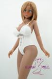TPE製ラブドール DollHouse168 90cm Eカップ Akane(茜) アニメヘッド