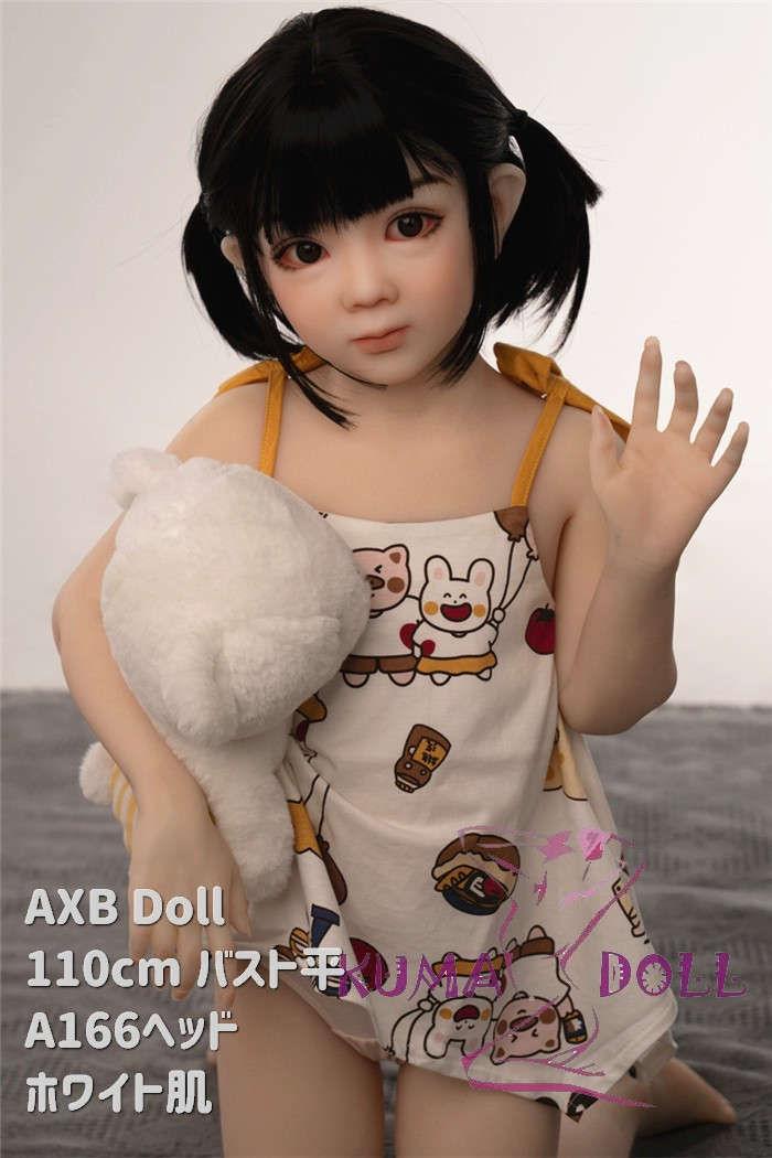 TPE製ラブドール AXB Doll 110cm バスト平 A166 掲載画像はリアルメイク付き