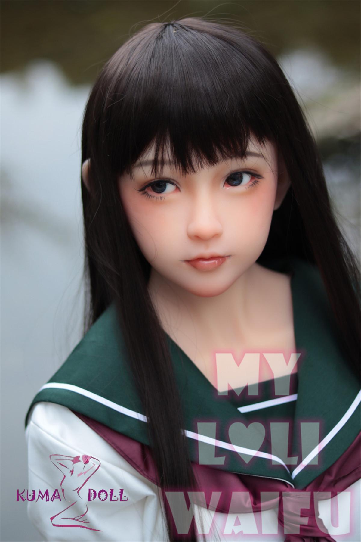 My Loli Waifu 略称MLWロり系ラブドール 138cmAカップ 陽葵Haruki頭部 TPE材質ボディー ヘッド材質選択可能 メイク選択可能