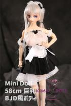 Mini Doll ミニドール セックス可能 58cm巨乳 BJDボディ Nanaヘッド ボディ選択可
