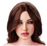 リアル人形 ラブドール 148cm Dカップ  #7頭部 高級シリコン頭部+TPE材質ボディ 身長など選べる FUDOLL