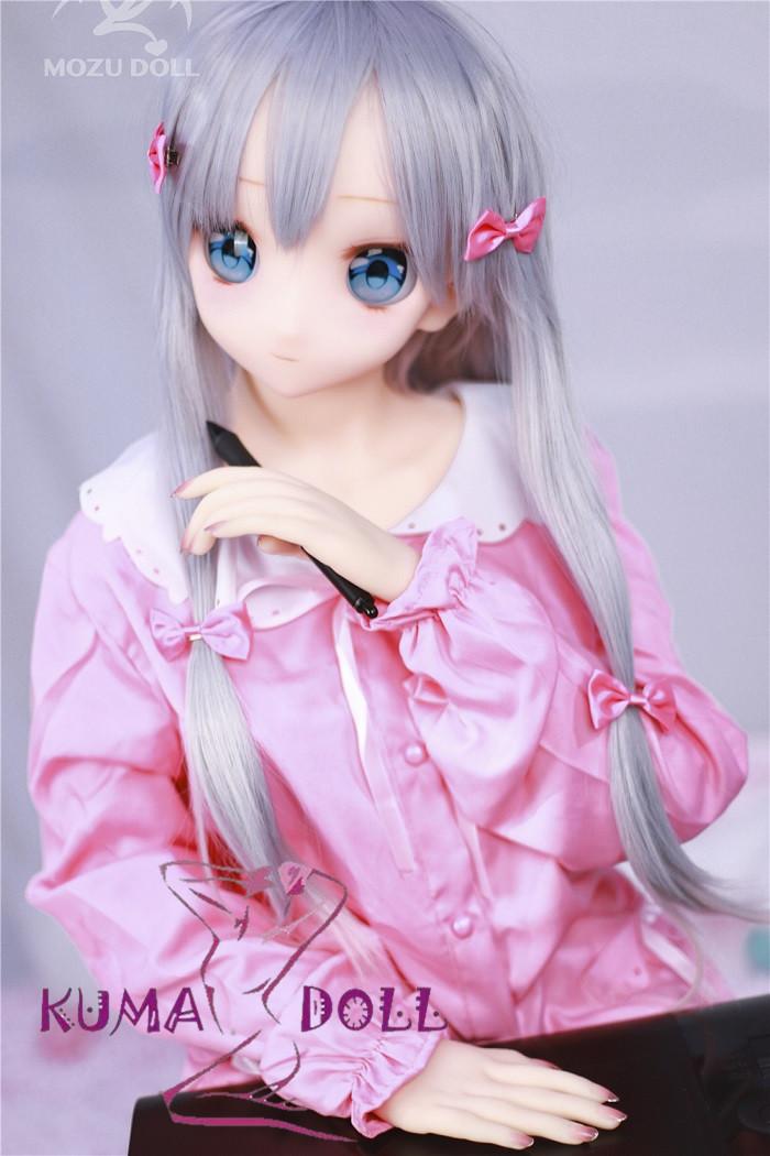 TPE製ラブドール MOZU 145cm Dカップ 小纱(xiaosha)体重25kg 肌色&眼球色&メイク&ウィッグ&衣装は宣材写真と同じ